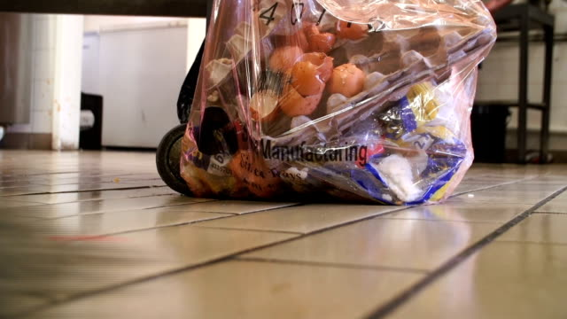 food preparation/ johannesburg/ south africa - rubbish stock videos and b-roll footage