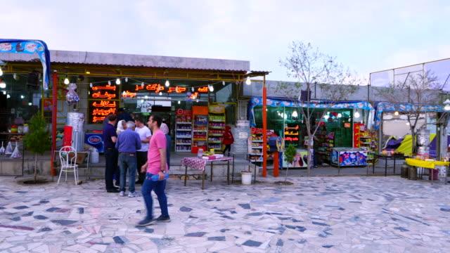 vidéos et rushes de food shop, iran, western asia, asia, middle east - tour d'azadi