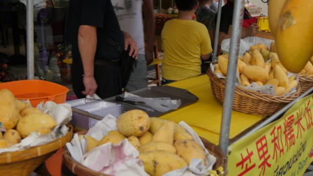 vídeos de stock e filmes b-roll de food stall on yaowarat road, chinatown, bangkok, thailand, southeast asia, asia - grupo mediano de animales