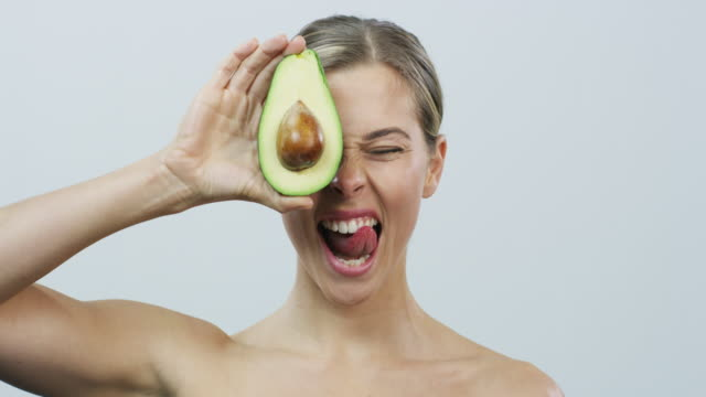 food that nourishes the skin and the body - beauty treatment stock videos & royalty-free footage