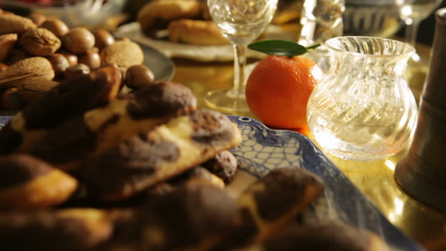food winter treats   fo - food styling stock videos & royalty-free footage