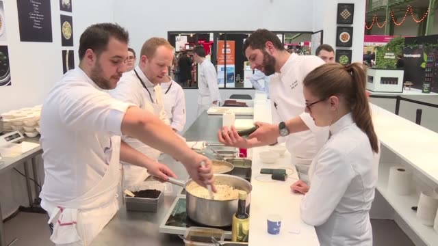 foodies are in for a treat in the french capital this weekend - foodie stock videos and b-roll footage