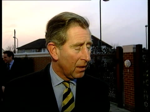 dartmoor/latest situation itn england devon dartmoor farm where outbreak of footandmouth diseaes has been confirmed prince charles speaking to press... - northamptonshire stock videos and b-roll footage