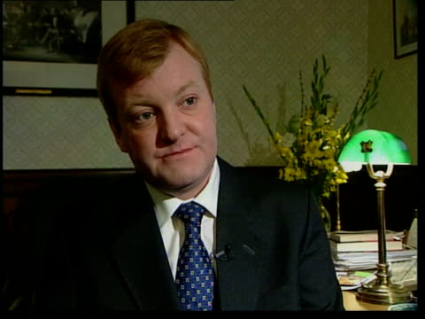Measures working/1000 cases London INT Charles Kennedy MP interviewed SOT There has to be immediate relief package for farmers / There has to be...