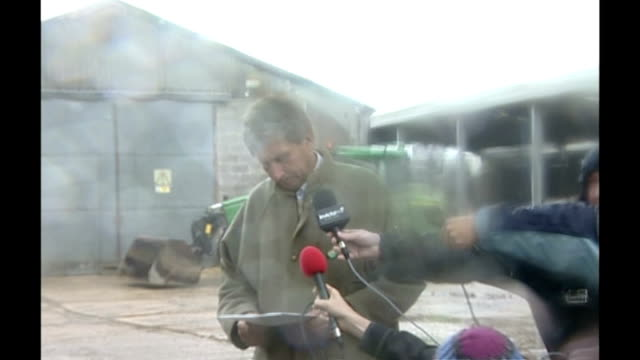 Control zones established round two more areas in Kent and Surrey ENGLAND Kent Romney Marsh Stephen Furnival interview SOT Talks about noticing...