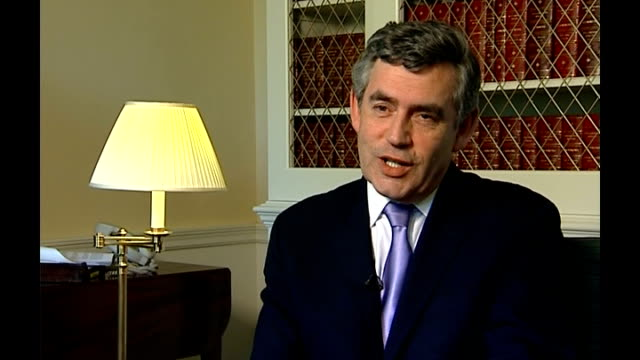 foot and mouth outbreak in surrey: pirbright research laboratory examined; england: london: int gordon brown mp interview sot - first of all, having... - biological process stock videos & royalty-free footage