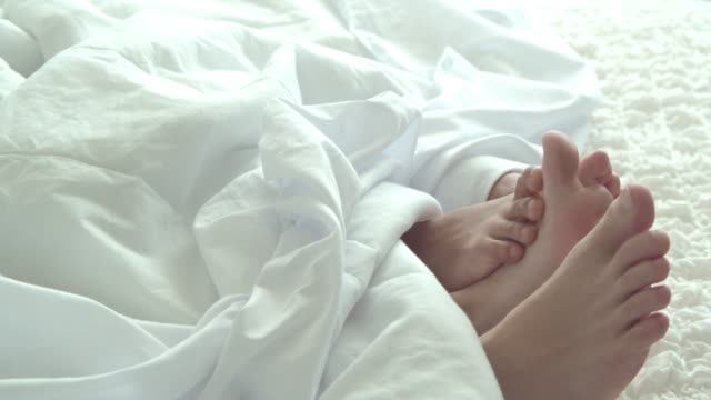 foot flirting - married stock videos & royalty-free footage