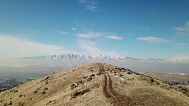 foot hills above lehi city utah - lehi stock videos & royalty-free footage