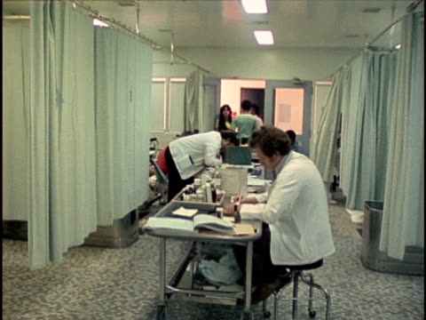 1978, WS PAN Foot surgery ward, Los Angeles, California, USA