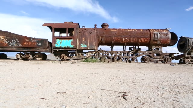 Footage from Bolivia Desert Train