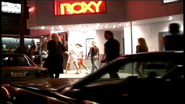 footage from car of street life in 1988 los angeles - 1988 stock videos & royalty-free footage