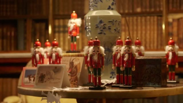 Footage from Harewood House near Leeds as the house is dressed up for Victorian Christmas experience The event was inspired by the Christmas special...