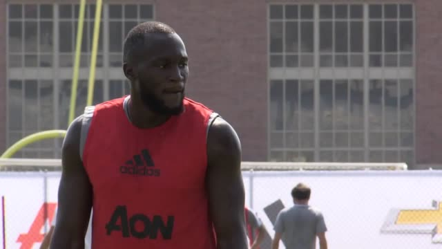 Footage from Manchester United's first training session of their preseason tour to the United States Footage includes new signings Romelu Lukaku and...