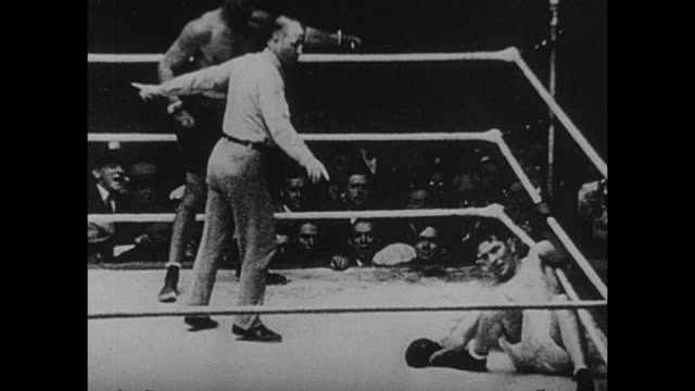 footage from the 2nd world heavyweight championship bout fought by gene tunney vs jack dempsey at soldier field in chicago illinois in 22nd september... - world championship stock videos and b-roll footage