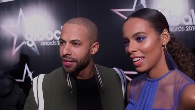 Footage from the first ever Global Awards featuring Mabel Jess Glynne Stefflon Don Myleene Klass Rochelle Humes Craig David Big Shaq Liam Payne Emma...