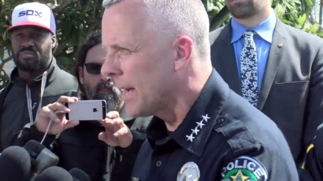 Footage from the press conference with the Austin Chief of Police Broll of the FBI investigation at the location where the second bomb exploded