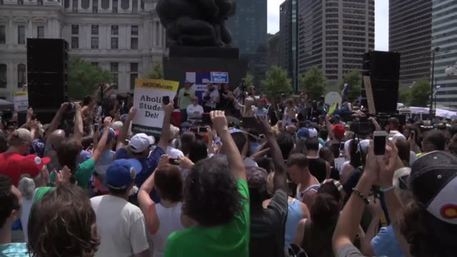 footage from the shut down dnc rally with jill stein - jill stein stock videos and b-roll footage