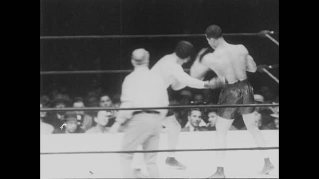 footage from the world heavyweight championship bout fought by joe louis vs arturo godoy, in new york, ny on 20th june 1940. - black history in the us stock videos & royalty-free footage