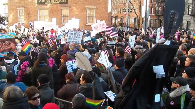 Footage from today'sLGBT Solidarity Rally at Stonewall in New York CityFebruary 4th 2017