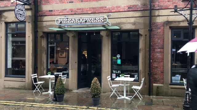 Footage Of A Pizza Express Branch In Preston As The Firm