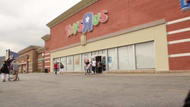 footage of a toys r us store in glendale - toys r us stock videos and b-roll footage
