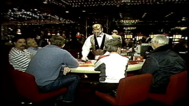 footage of black jack table - atlantic city stock videos & royalty-free footage