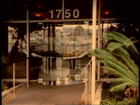 footage of Capitol Records and surrounding area shot on Super 8mm film