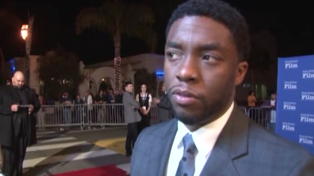 footage of chadwick boseman, best known for playing superhero black panther, who has died at the age of 43 after a battle with cancer. in an... - wife stock videos & royalty-free footage