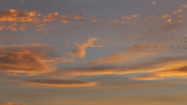 footage of clouds at sunset - stratus stock videos & royalty-free footage