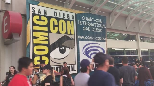 Footage of from preview night at ComicCon