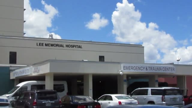 footage of lee memorial hospital in fort myers florida following the mass shooting at club blu - fort myer stock videos and b-roll footage