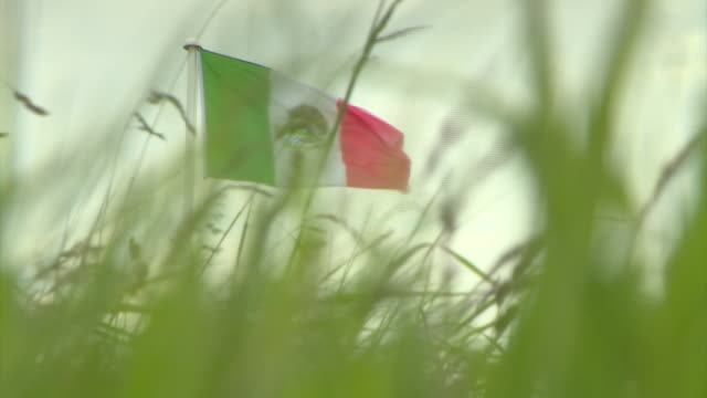 Footage of Mexican Flags flying at the Turnberry Golf course in protest to the arrival of Donald Trump and his 200 million pound Golf resort NNPW690F