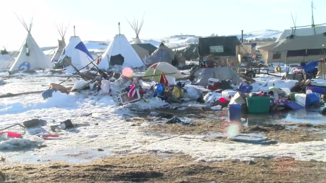 footage of sacred ground/standing rock camp - native american reservation stock videos & royalty-free footage