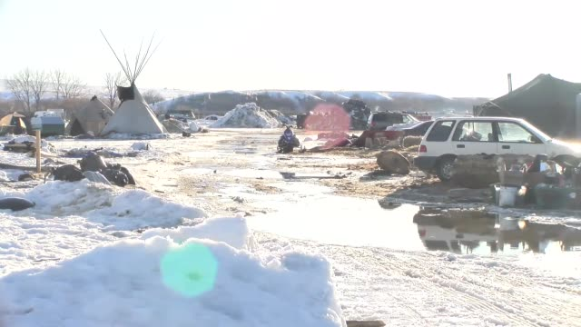 Footage of Sacred Ground/Standing Rock camp