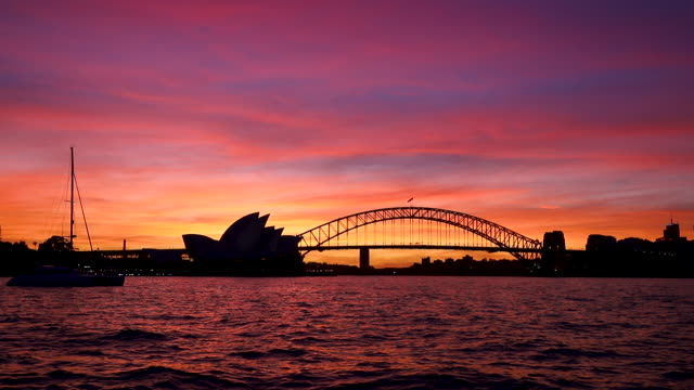 footage of sydney harbour, nsw, australia - opera house stock videos & royalty-free footage