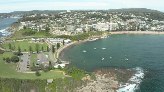 footage of terrigal, new south wales, australia - coastal feature stock videos & royalty-free footage