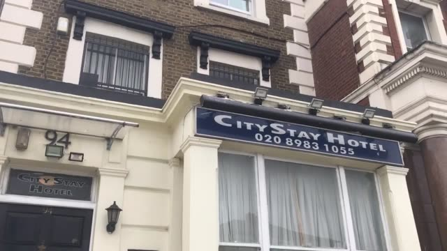 footage of the city stay hotel in bow road east london where the prime suspects in the salisbury poisonings alexander petrov and ruslan boshirov... - suspicion stock videos & royalty-free footage