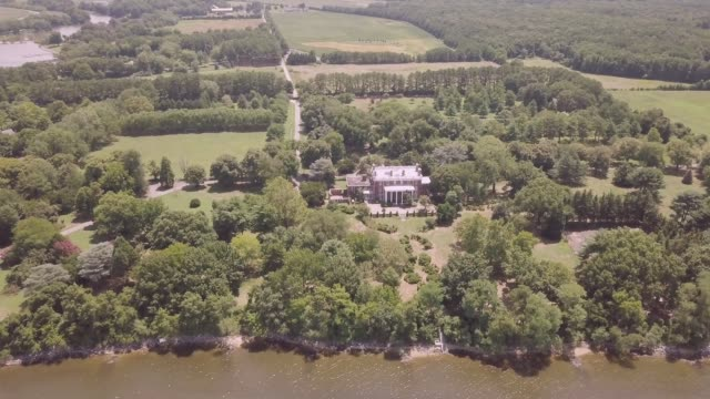 footage of the compound originally owned by the russian government, and confiscated back to management by the u.s. state department under the obama... - maryland us state stock videos & royalty-free footage