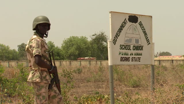 footage of the government secondary school in chibok nigeria the lcoation where 276 female students were kidnapped by boko haram in 2014 - girls videos stock videos & royalty-free footage
