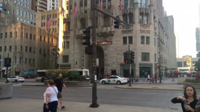footage of tribune tower in chicago. - トリビューンタワー点の映像素材/bロール