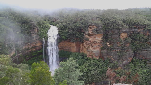 footage of wentworth falls, blue mountains, nsw, australia - national park stock videos & royalty-free footage