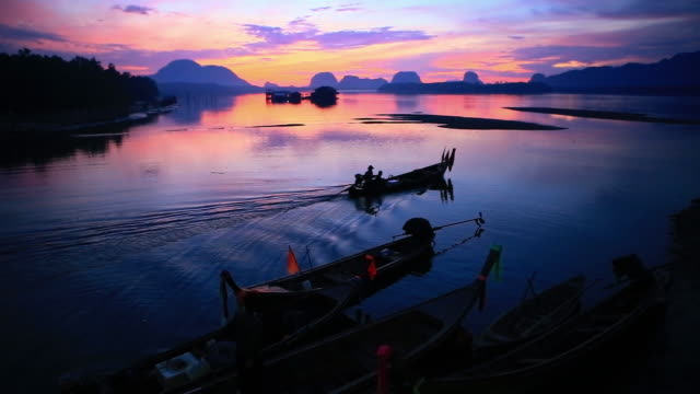 footage sam chong tai, phang nga province, thailand in the morning - phang nga bay stock videos and b-roll footage