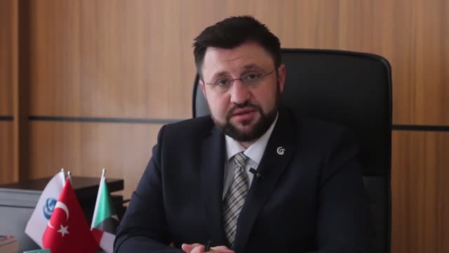 Footage show Turkish language courses given at Yunus Emre Institute while the director of the institute Feyzullah Bahci says that they teach Turkish...