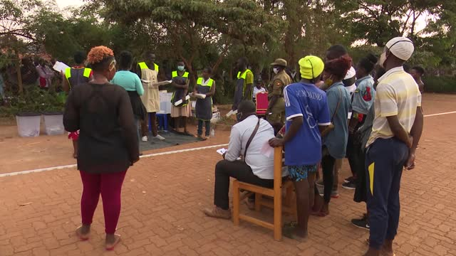 footage shows vote counting in one of the polling stations where over six million ugandans participated in the presidential and parliamentary... - kampala stock videos & royalty-free footage