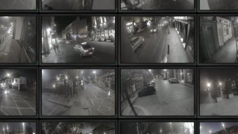 vídeos y material grabado en eventos de stock de vídeos de cctv - cámara