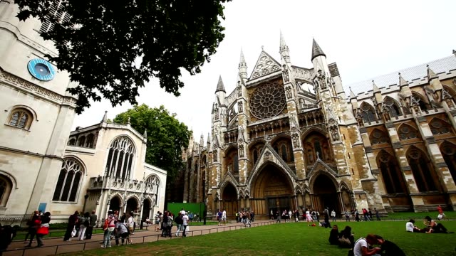 footages of central london - westminster abbey stock videos & royalty-free footage