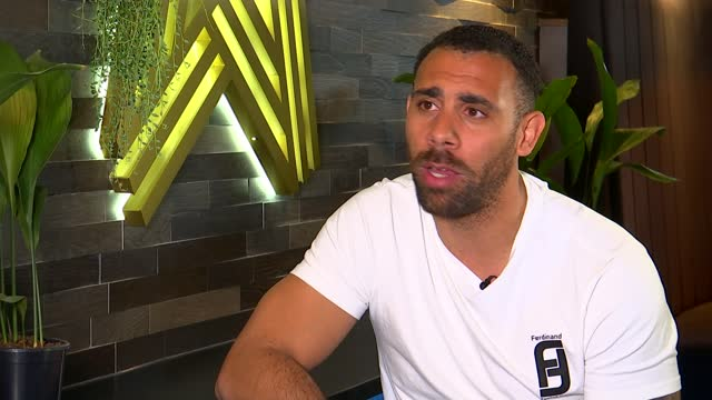 football clubs in england begin 4-day social media boycott in bid to tackle online abuse; england: london: int anton ferdinand interview sot - re... - news not politics stock videos & royalty-free footage