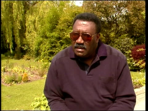 England Squad ITN Clive Lloyd interview SOT before now everyone was saying that he should go to a psychiatrist / a lot of pressure on him / now that...