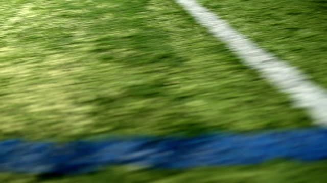 football field - turf stock videos & royalty-free footage