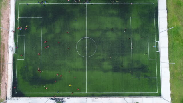 football field - football pitch stock videos and b-roll footage